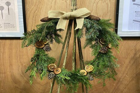 Traditional Wreath Making Workshop - Morning