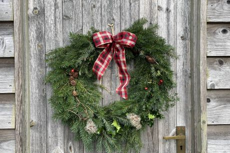Traditional Wreath Making Workshop - Afternoon